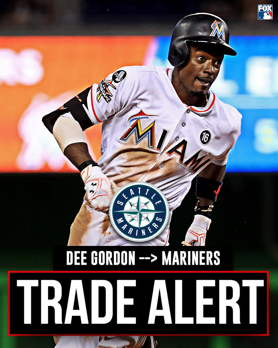 The Mariners reportedly acquire Dee Gordon from the Marlins.   via @Ken_Rosenthal