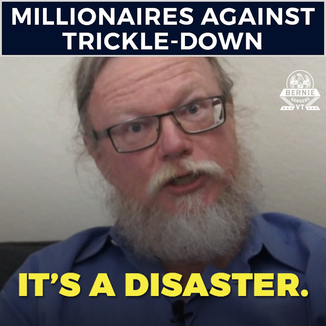 A disaster. A joke. A lie. Here's how these millionaires describe the fraudulent trickle-down economic theory: