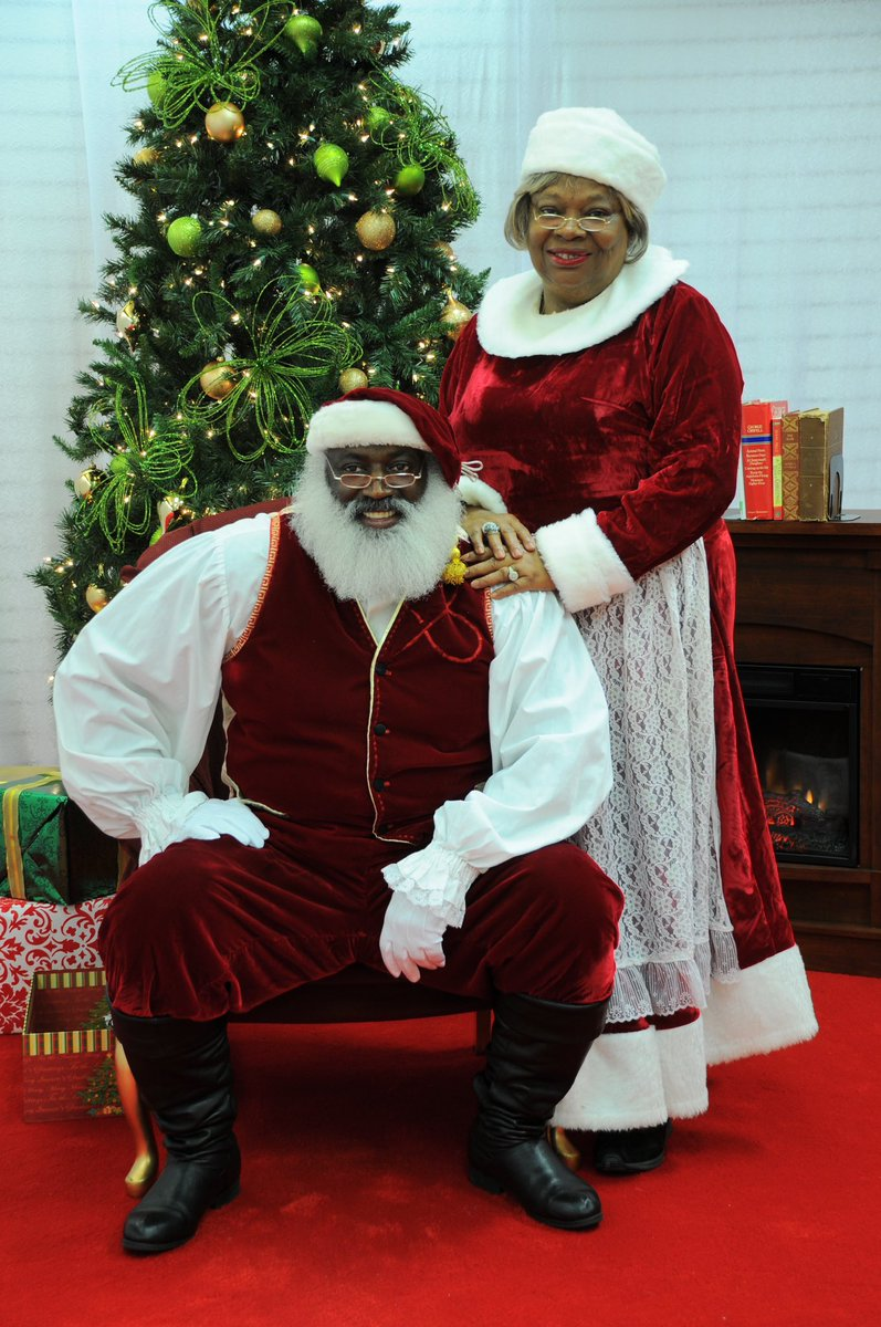Largest collection of black santas