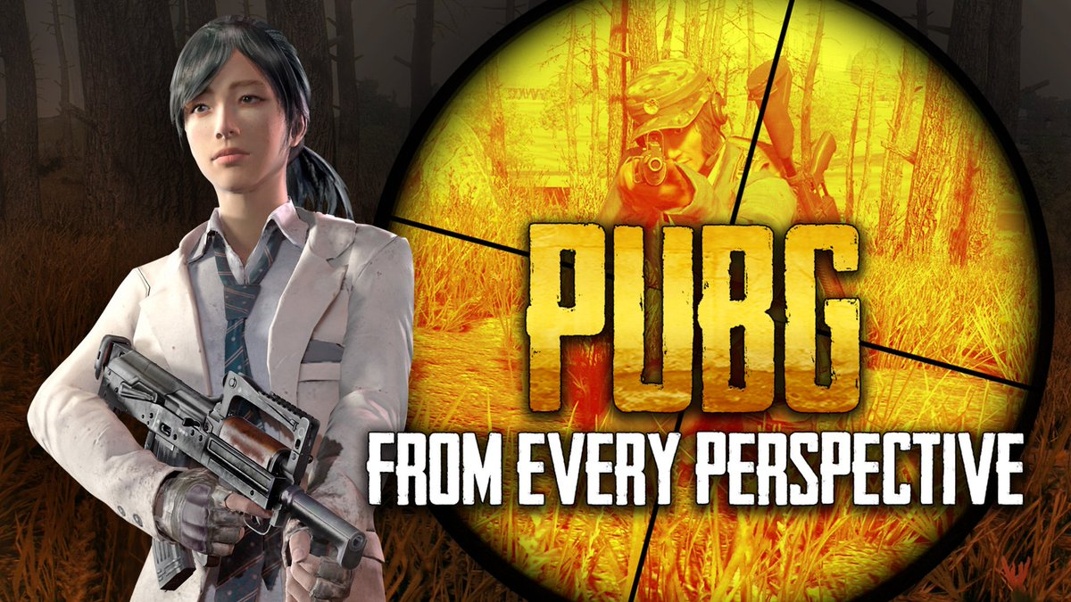 We captured an entire @PUBATTLEGROUNDS match from every perspective to show just how epic a game can be.  https://t.co/nt6JE1QR9E  @PUBGpartners @BattleRoyaleMod