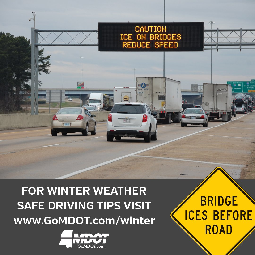 """gomdot 81st Training Wing on Twitter: """"Winter Weather Alert The Mississippi ..."""
