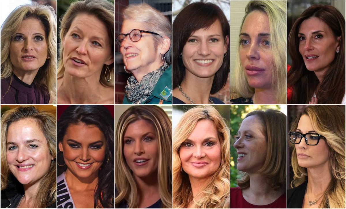 Time for overlord turd @realDonaldTrump to step down. Twelve of the 19 NAMED CLAIMS OF SEXUAL ASSAULT against this perverted behemoth. Hey @rupertmurdoch @FoxNews @seanhannity Unless you maintain that ALL 19-women 'are lying'. Your move. Otherwise get out.