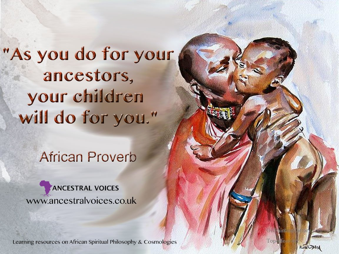 "Ancestral Voices on Twitter: ""African wisdom for daily living...  https://t.co/tiBc3puDnE #ancestralvoices #AfricanProverb #ancestors… """