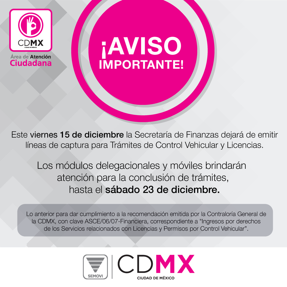 Secretaría De Movilidad Cdmx On Twitter Realiza El Pago De