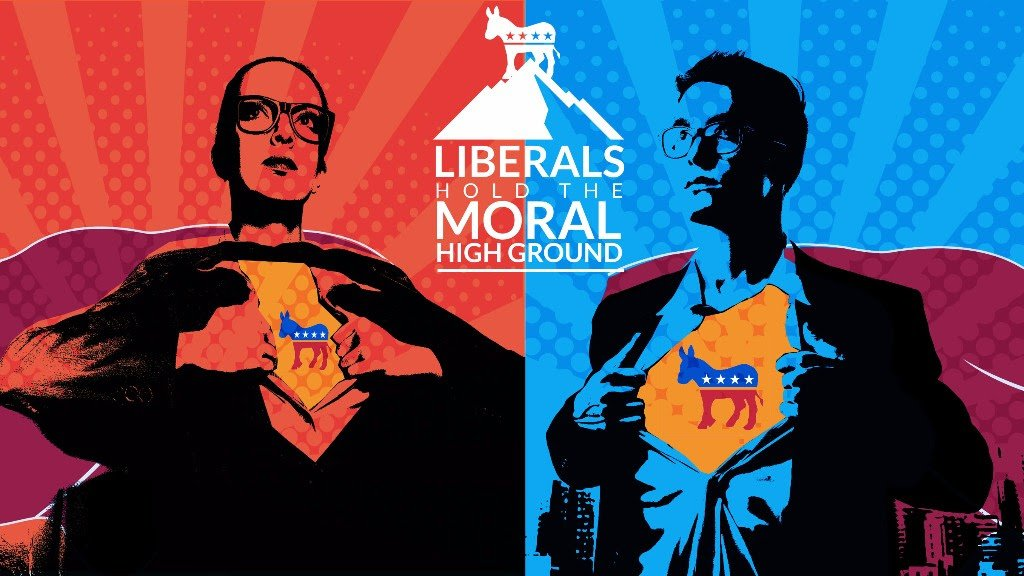 In one hour: Liberals Hold the Moral High Ground #debate #nyc #nycevents https://t.co/Di3u9cGkZE #IQ2USLive