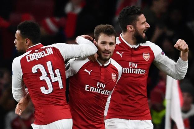Trois ans après, Mathieu Debuchy a marqué avec Arsenal https://t.co/3d6zKuEKaX