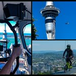 Woaah @swbmx, what better way to kick off summer and celebrate the 10th Birthday of @SkyJumpNZ! Thanks to the PR Department and @AJHackettBungy for a cracker day 192m above @Auckland_NZ... looking forward to working with you again soon! #shootvideoanywhere #literally