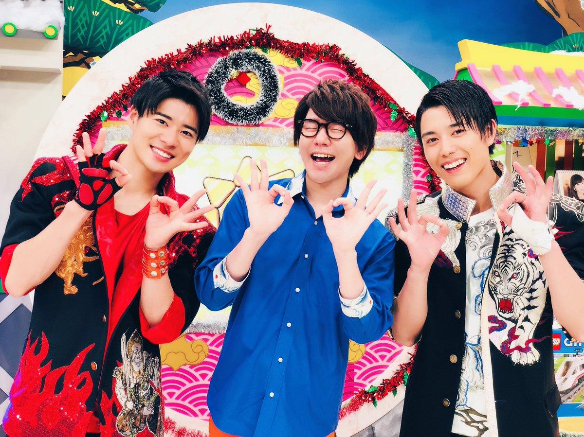 おーはー!  今日のおはスタは  BOYS AND MENの辻本さん、勇翔さん SKE48の高柳さん…