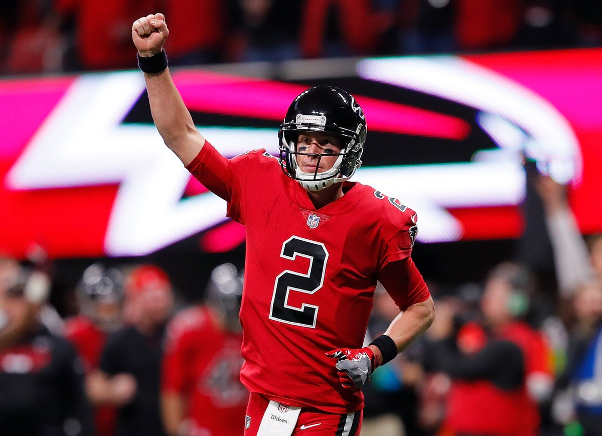 HUGE comeback win for the Falcons!   Atlanta scores 10 unanswered to defeat New Orleans, 20-17   #NOvsATL https://t.co/WigGgR4lIy