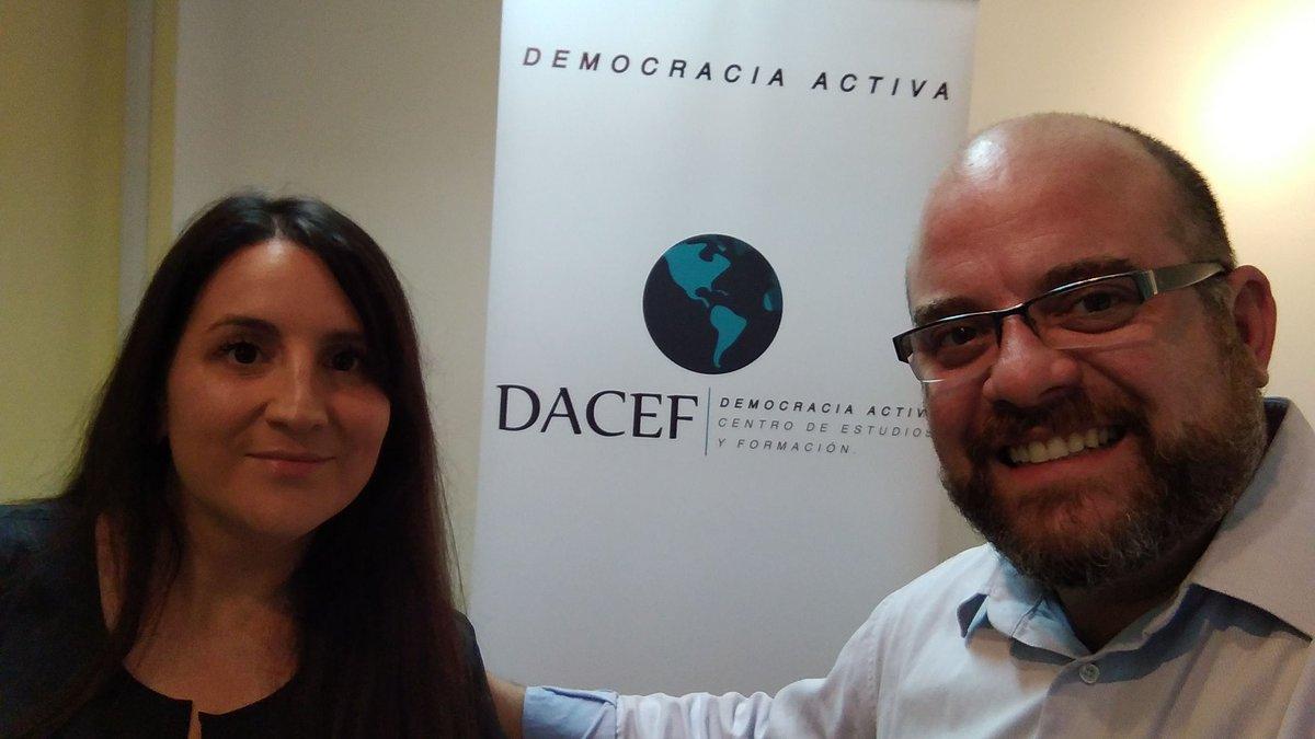 """Con @VeroP3 en la previa al Foro de @DACEFuy """"Luces y Sombras del Nuevo CPP""""  #Dacef Gracias por el trabajo Sabri !!"""