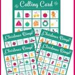 FREE Printable Bingo Game for Christmas https://t.co/8FLNe22r3x
