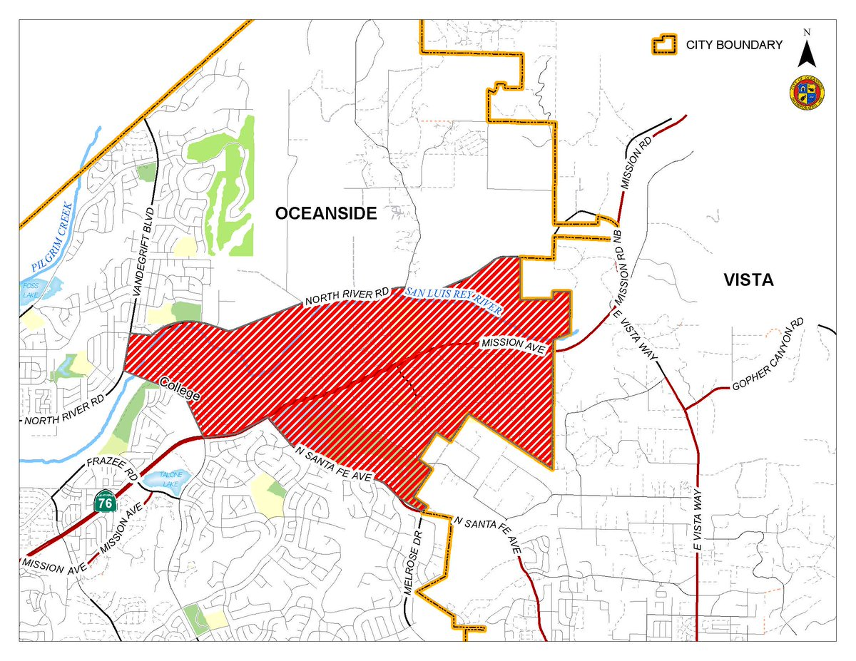 Oceanside Fire Update >> City Of Oceanside On Twitter Fire Update If You Live In This Area