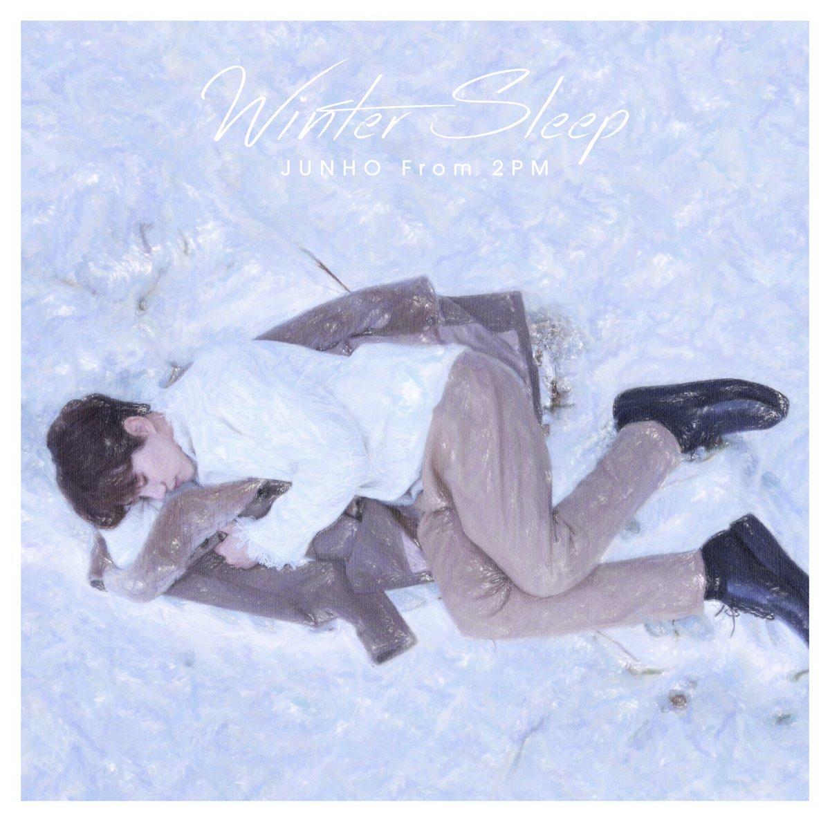 2018年、JUNHO (From 2PM) 6th Mini Album『Winter Sleep…
