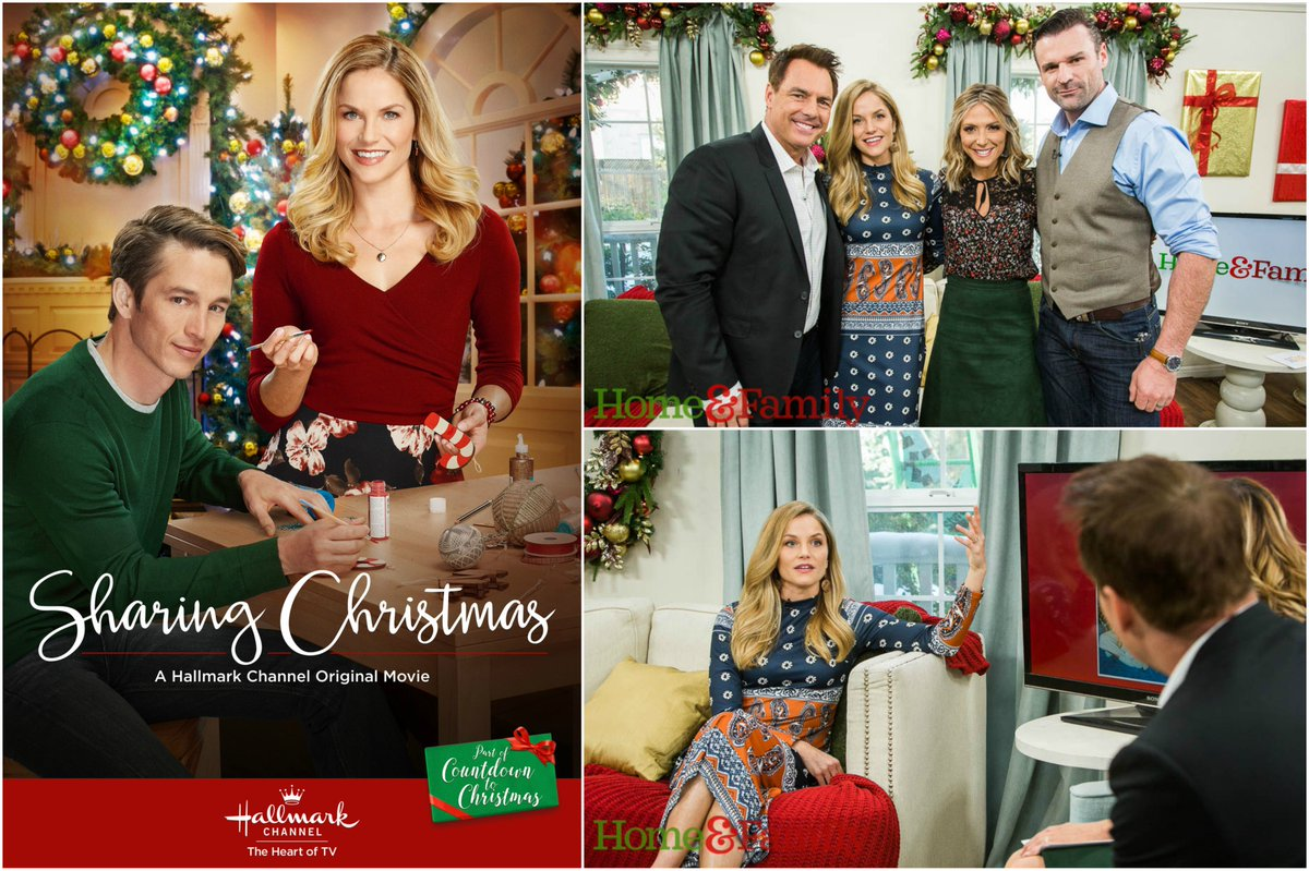 Sharing Christmas Hallmark.Home Family On Twitter Fri Ellenhollman Stops By The
