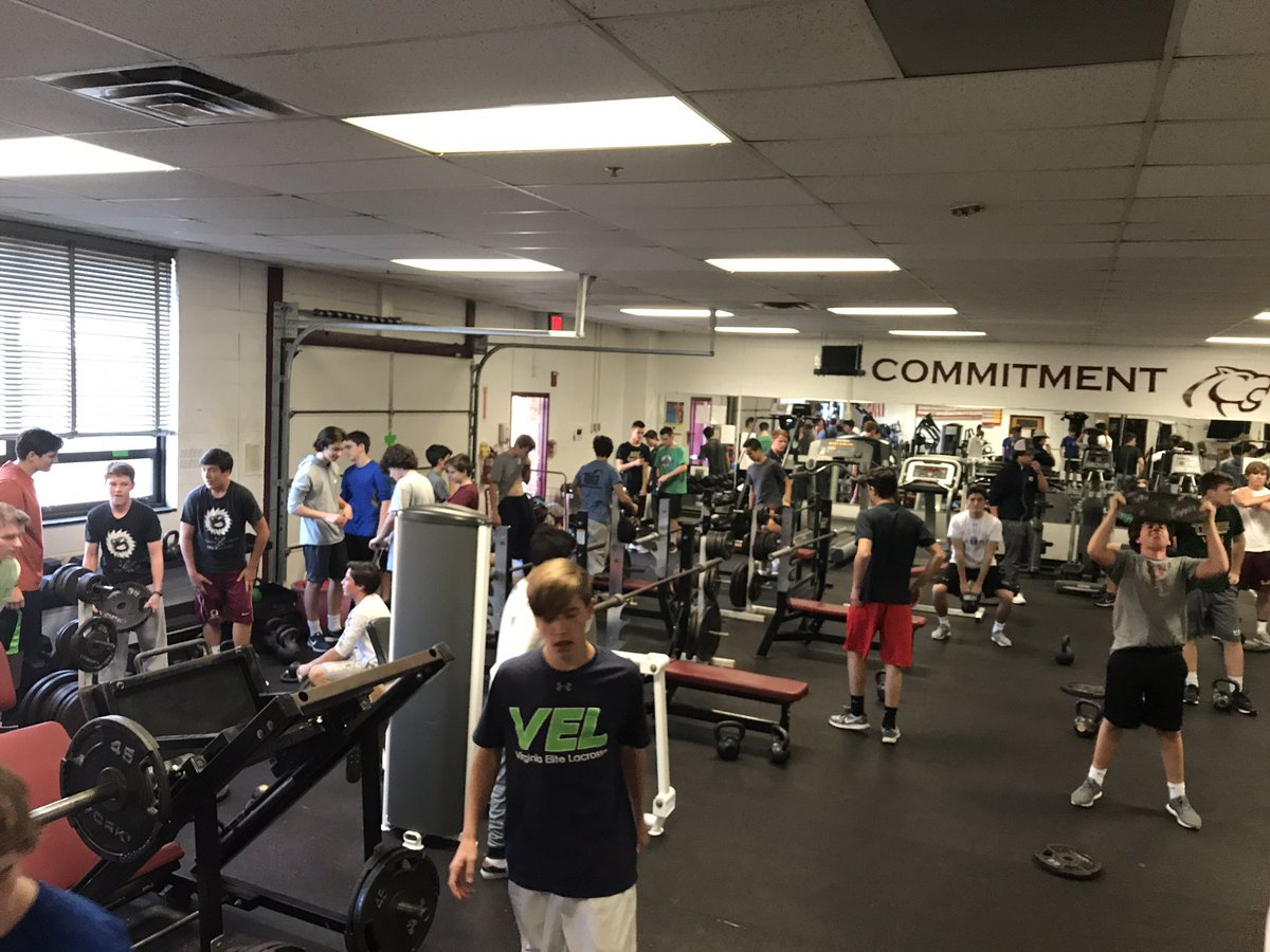 Cougar Pride On Twitter Great Weight Room Session By Both The Baseball And Lacrosse Teams Who Were Getting After It Today