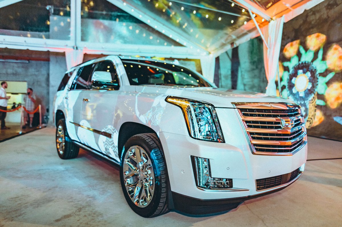 How fire is this @Cadillac #Escalade at...