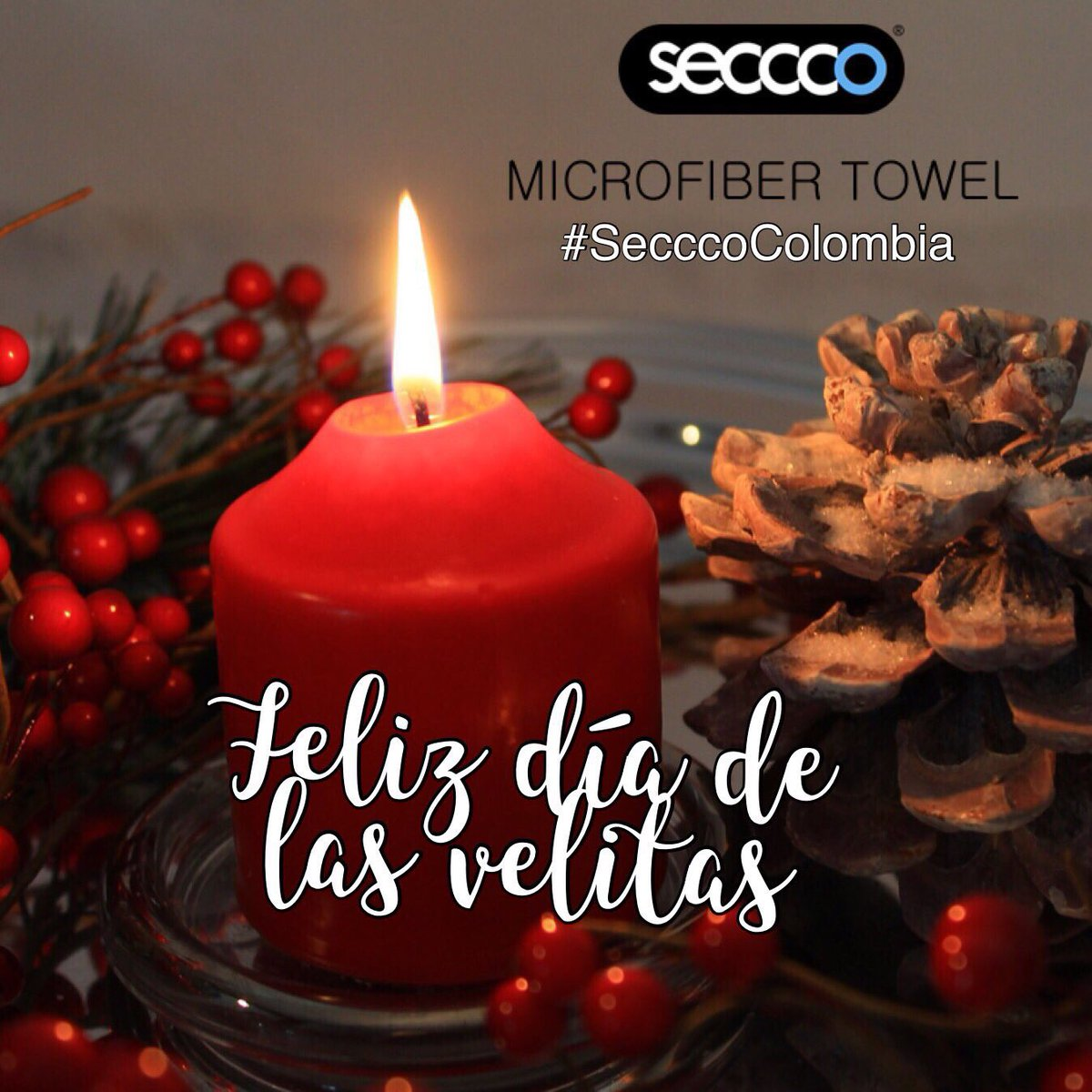 Una #velita encendida por cada #sueño #FelizDíaDeLasVelitas #Colombia  #SecccoColombia te acompaña  #FelizJueves https://t.co/AQ12vFz7Tj