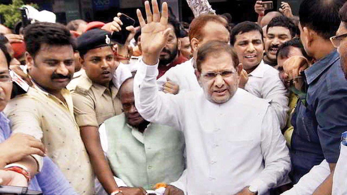Out of Rajya Sabha, Sharad Yadav to move court, writes @Manankmrdnai.in/faJw