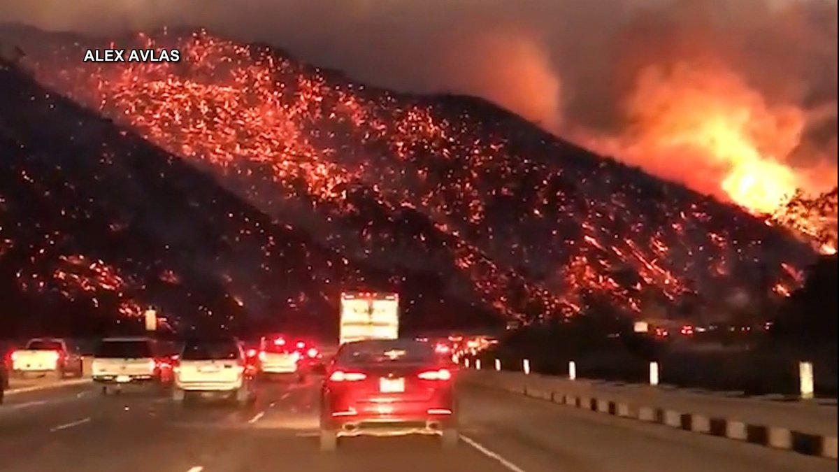 Experts Warn California's December Wildfires Are Linked to Climate Change https://t.co/fJ53LOcsua #LAFires