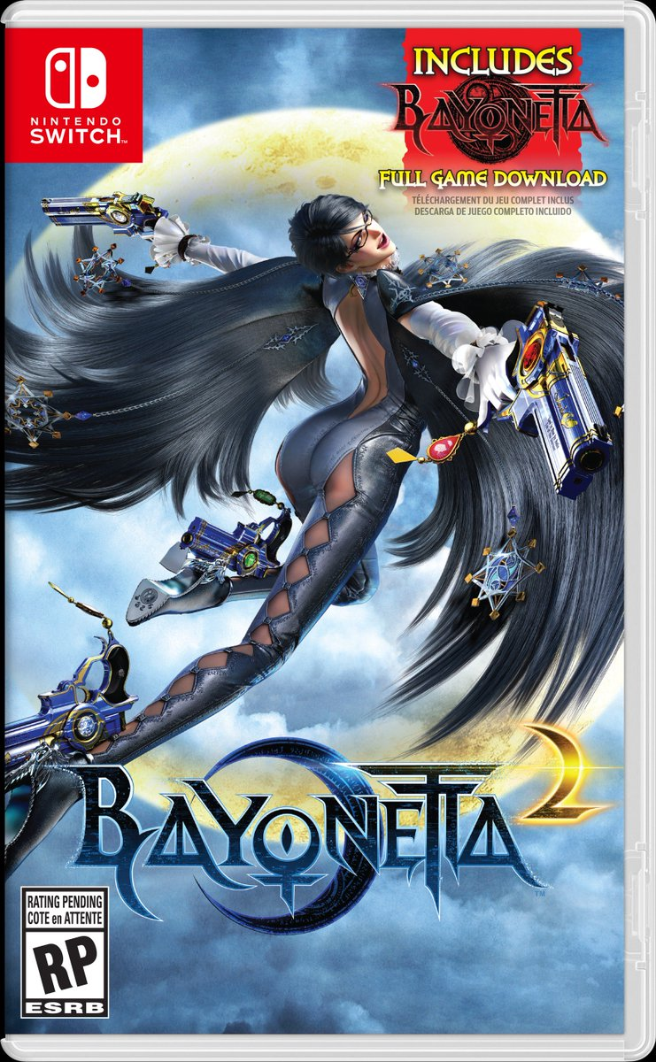 The Witch comes to #NintendoSwitch! #Bayonetta 1 a…
