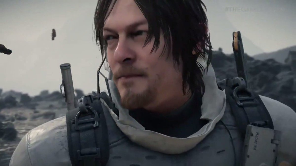 RT @gamespot: Here's the extended trailer for Hideo Kojima's #DeathStranding, featuring Norman Reedus #TheGameAwards https://t.co/hhipMjwnMT