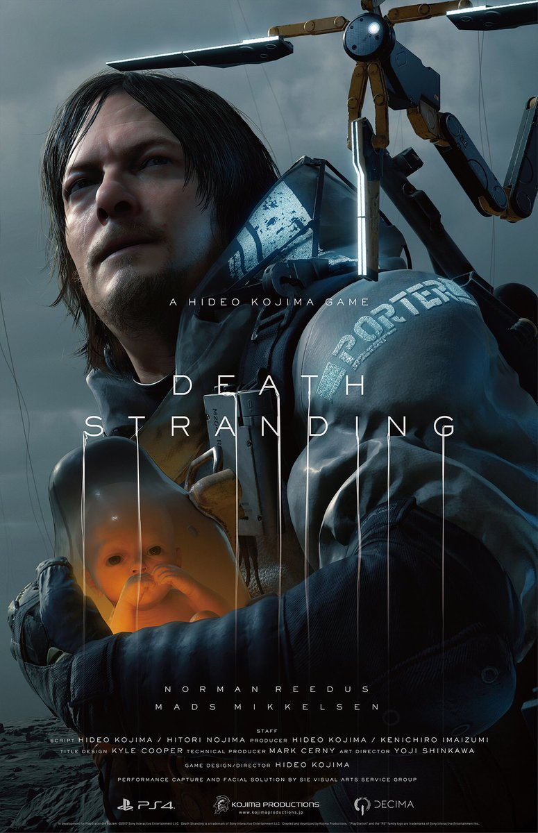 We have revealed the new trailer of DEATH STRANDIN…