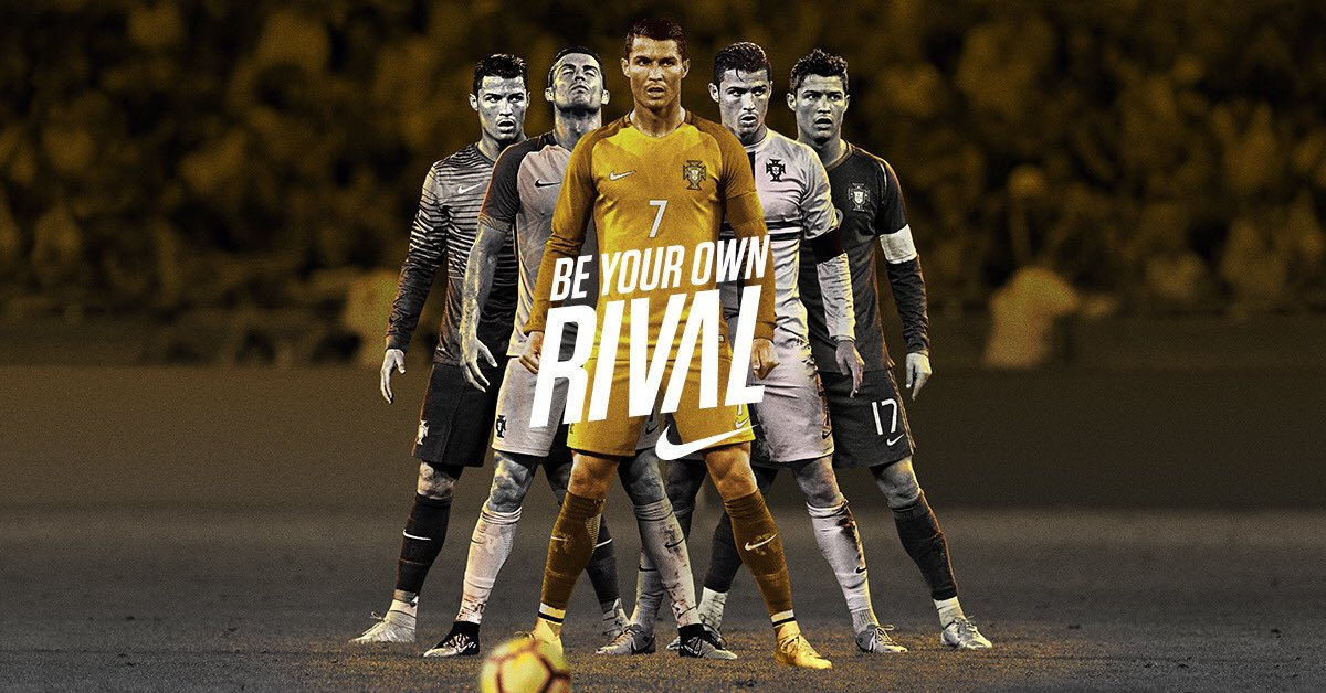 Be your own rival. 🏆 #CR7 #NikeFootball #PlayFree