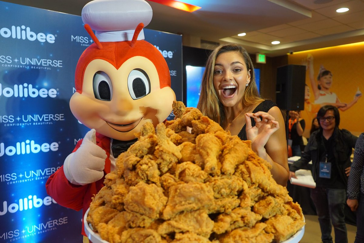 It's a scientific fact that a massive bucket of @Jollibee chicken joy produces actual joy. #beautiesandthebee #MissUatJollibee