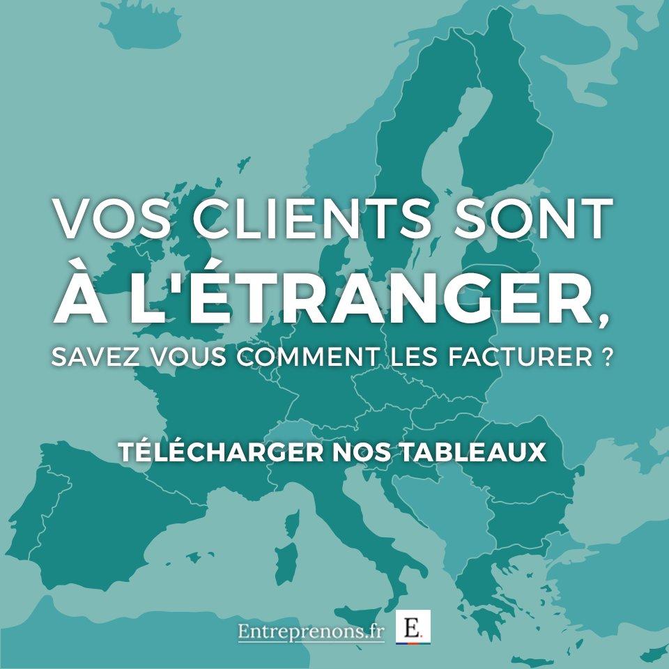 Entreprenons Fr On Twitter Savez Vous Facturer Des Clients A L