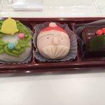 小塚氏から差し入れ頂きました!クリスマス限定和菓子♡#GPF2017 pic.twitter.com…