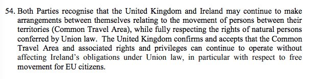 4. UK accepts free movement of EU citizens to Ireland AND open border between Ireland and UK. Can somebody remind me what the purpose of Brexit was supposed to be? #StopBrexit
