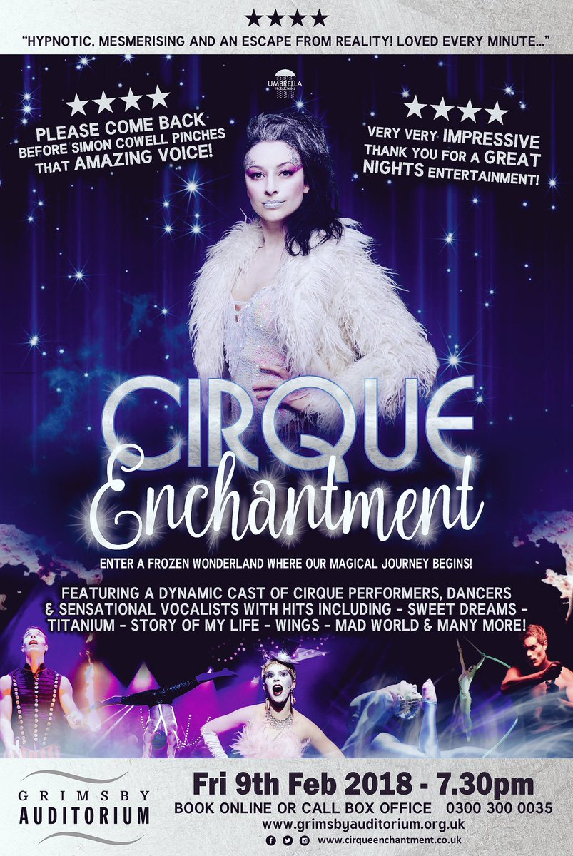 cirque enchantment on twitter the perfect christmas gift coming to grimsby auditorium feb 9th book now grimsbyaud escapereality wintermagic - The Christmas Gift Movie Cast