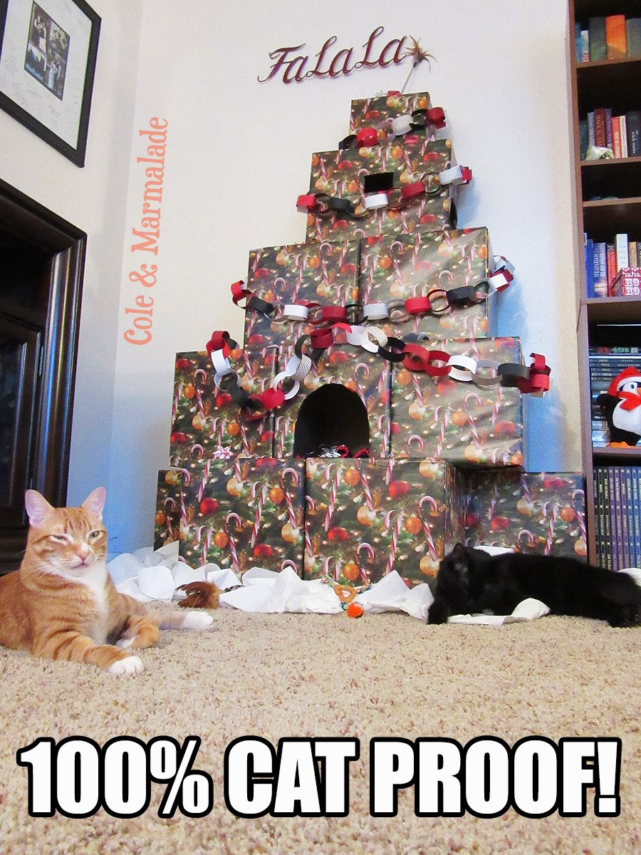Christmas Tree Alternatives For Cat Owners.Cole Marmalade On Twitter Another Option For Cat