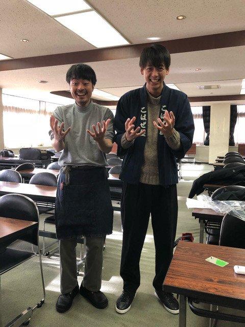 春やすこさんが、ドラマ「陸王」で使われているハッピを着た、竹内涼真さんのひょうきんなポーズshotを公開😝❣️  「なんで こはぜ屋のハッピ着てるの?」  #陸王 #竹内涼真 @takeuchi_ryoma @rikuou_tbs ameblo.jp/yasuko-haru/en…