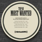 Our last #MostWanted WEEKLY chart of 2017 has @jamesbarkerband at #1 with #ItsWorking and #ThisTownIsYou debuts from @coldcreekcounty #Congrats Tune in Monday for our #MostWanted #Top40