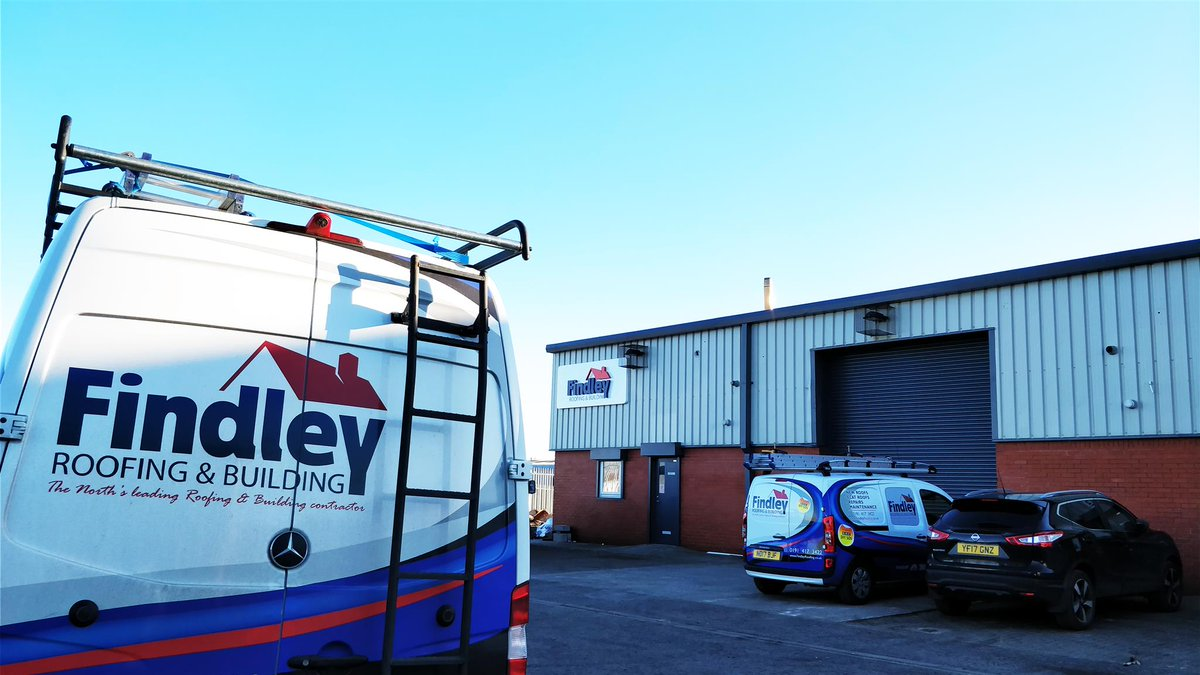 Today Weu0027re Celebrating The Launch Of Our Brand New Findley Roofing  Headquarters In Blackhall, Hartlepool. What Do You  Think?!pic.twitter.com/BTApSxExhb