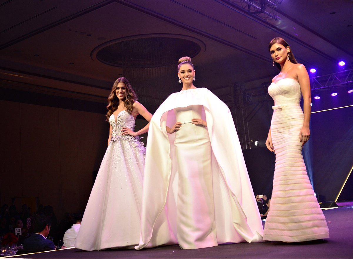 3 queens are better than 1! Thank you @frontrowph for the wonderful evening! #frontrowuniverse