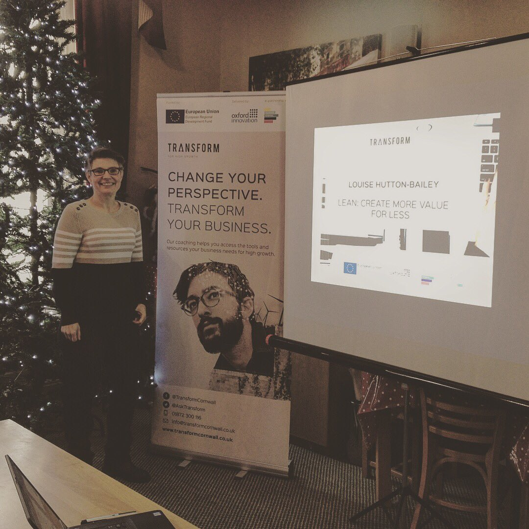 Transform coach @louiseh_b at the @CIoSGrowthHub #TownTakeover in St Austell today #LeanProcesses<br>http://pic.twitter.com/NBi7FnaUbK