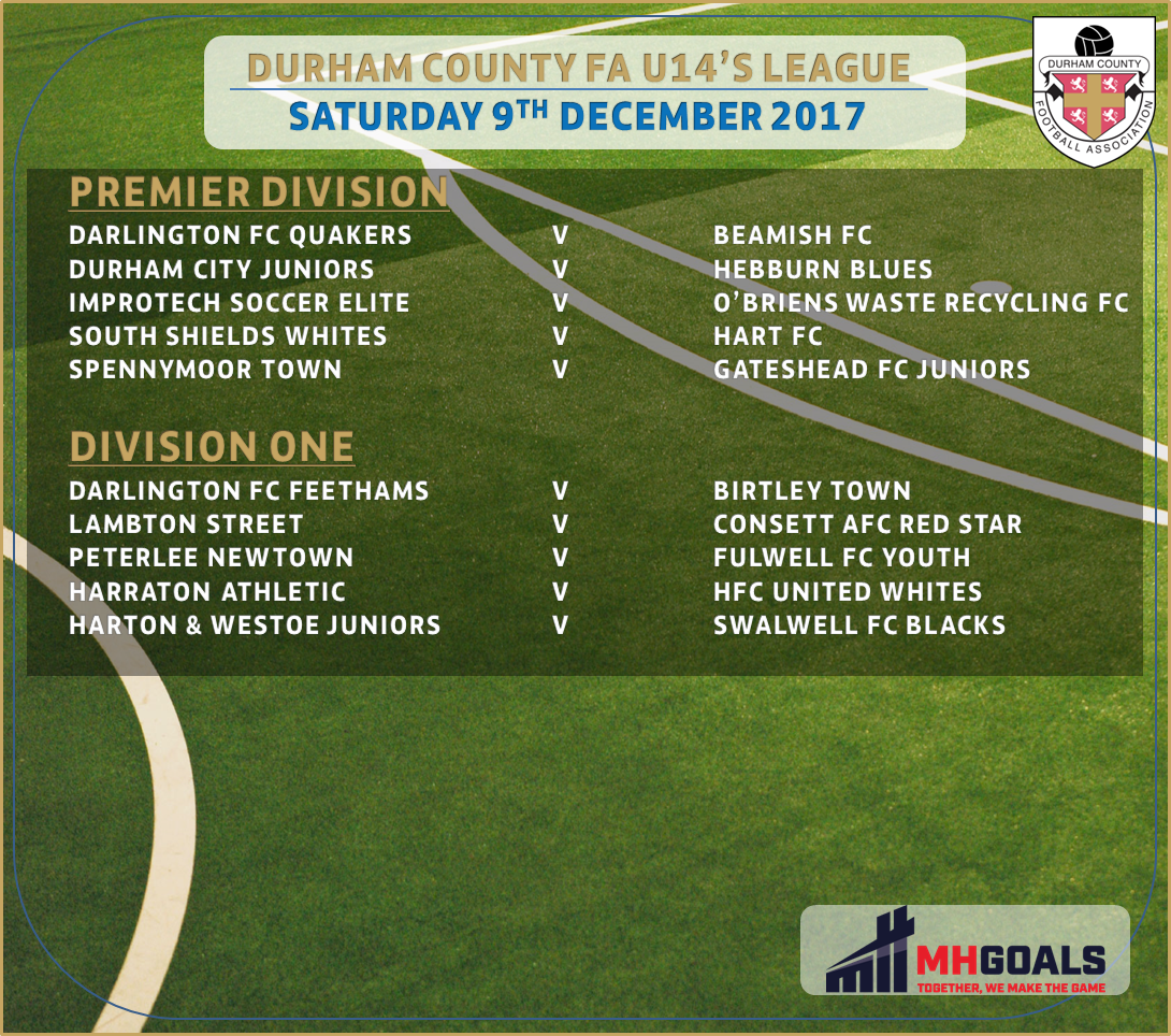 Durham Fa Leagues On Twitter Durhamfaleagues Under 14 S