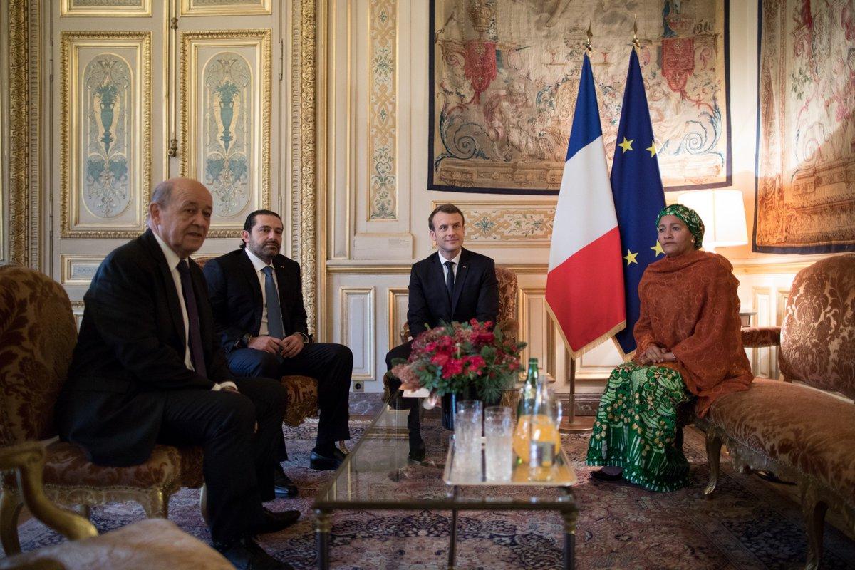 Le Liban est porteur de messages universels de paix et tolérance. C'est un pays frère, un pays symbole, clef pour la stabilité de la région.