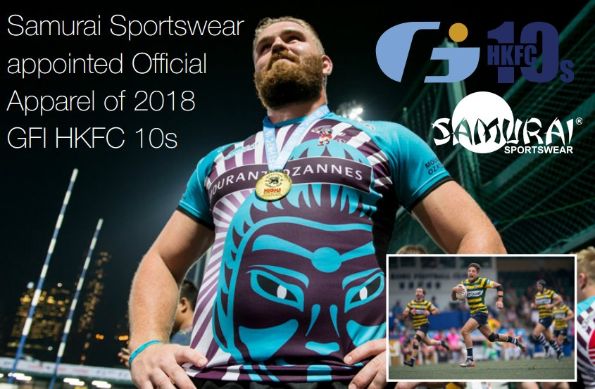 test Twitter Media - Samurai have been appointed as the official apparel of the 2018 @GFIHKFC10s tournament. We're proud to support teams with our state of the art kit designer. https://t.co/c0bofiY2IE   #rugby #rugbytournament #apparel #teamwear #custommade https://t.co/SdQRiDn65J