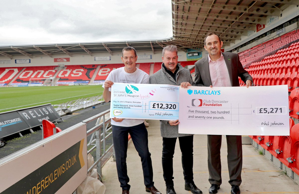Hospice and @ClubDFoundation charity based at @TheKeepmoat  have received a £17,591 boost, more info @  http:// aq.be/5266cf  &nbsp;   #doncasterisgreat @MyDoncaster #Doncaster <br>http://pic.twitter.com/NLlI0bZdnY