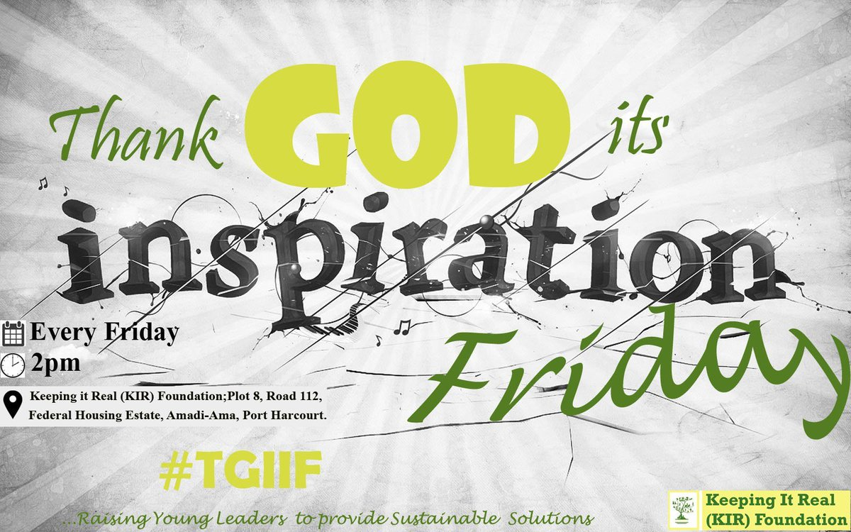 Today is @kirfoundation #TGIIF #MovieDay Special Session. There's so much young adults can learn from movies. #TGIIFYouth<br>http://pic.twitter.com/R8gOIsrYxn