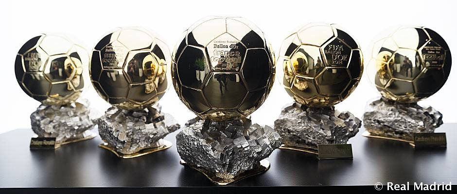 🏆🏆🏆🏆🏆 You can now see all FIVE of @Cristiano's Ballon d'Or trophies on the Bernabéu Tour!  #CRI5TIANO | #HalaMadrid