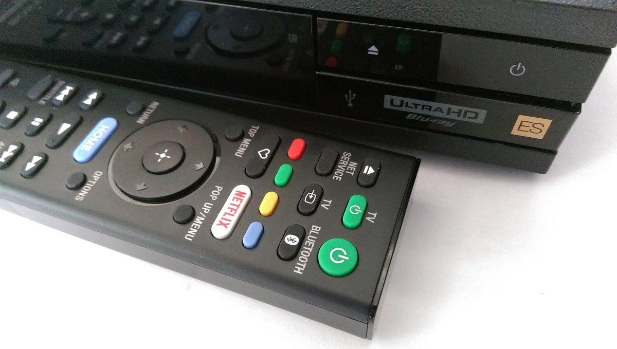 Blu ray player test