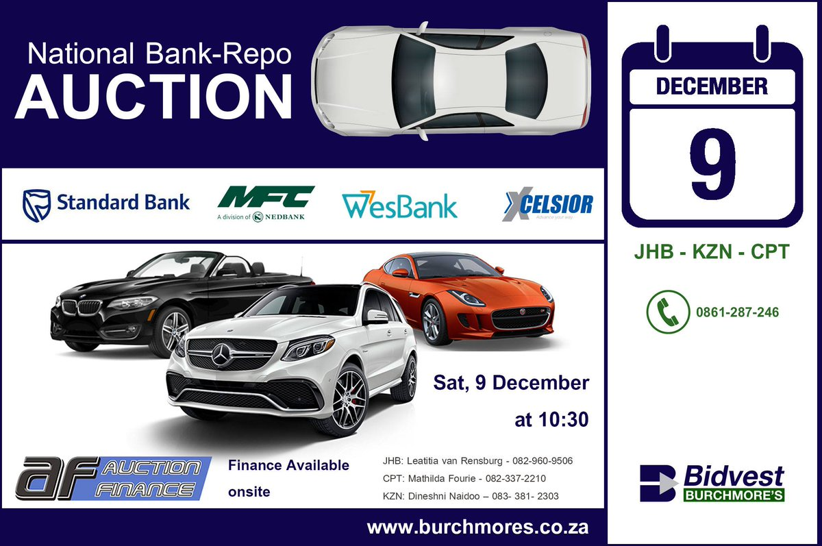 Bidvest Burchmore S On Twitter Don T Miss Our National Bank Repo