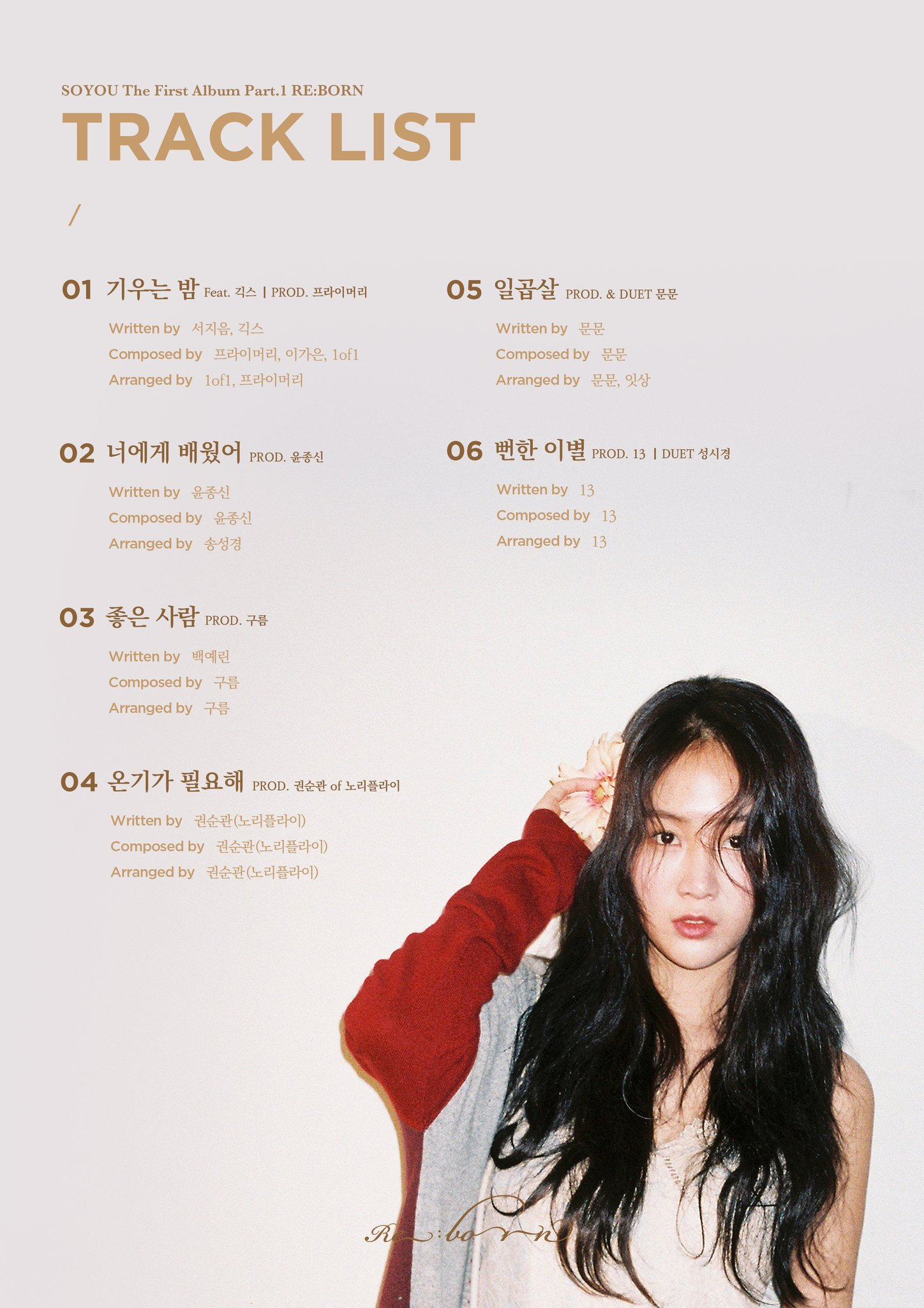 Soyou (SISTAR)>>  THE FIRST ALBUM PART.1 DQhdLlCVQAEa3iG