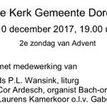 Zondag 10 december in de Adventsvespers van 19.00 uur treedt het Laurens Kamerkoor bij het Bach-orgel in het Mariakoor op. Kom genieten en neem liefhebbers van o.a. Rachmaninov, Bach en Britten mee!