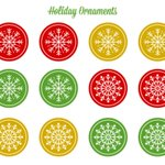 Free Printable Holiday Ornaments https://t.co/Un9OVdJj2r