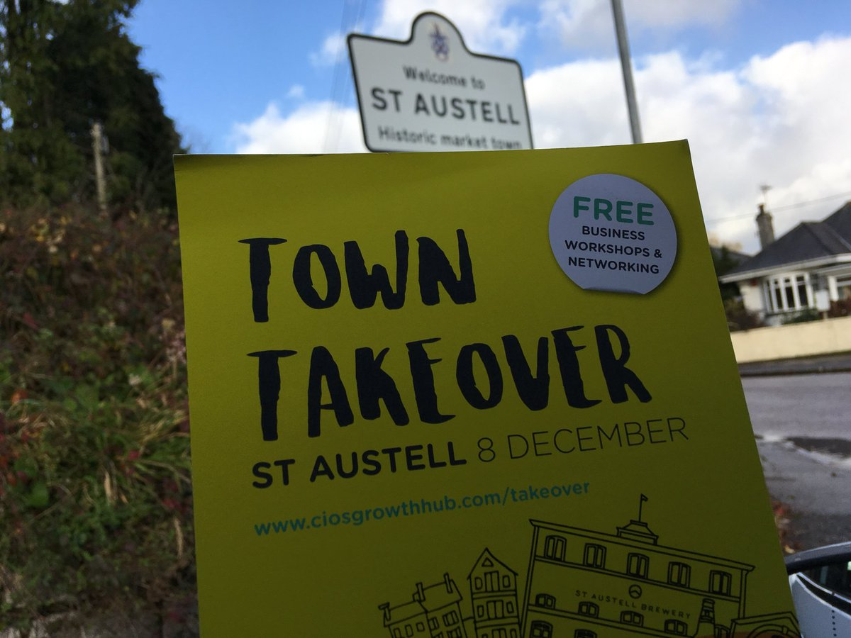 Surviving the hail in St Austell bringing the growth hub to businesses #TownTakeover @LEPCornwall_IoS @SABPConference @StAustellBayCoC<br>http://pic.twitter.com/K9vZezon0E